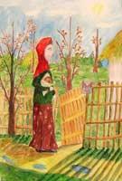 «Крестьянский хлеб»  (Гран-при в разделе «Изобразительное искусство»). Дарья Мальцева