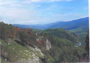Начало ущелья в верховьях Страшного Лога. Фото: В. К. Вистингаузен