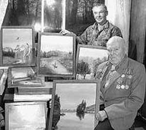Рис 1. Михаил Александрович и Александр Александрович