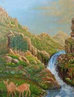 Рис. 9. «Весна в горах»