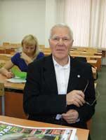 Виктор Ревякин на конференции