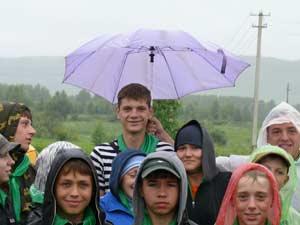 Не прекращающийся дождь заставлял идти на хитрость