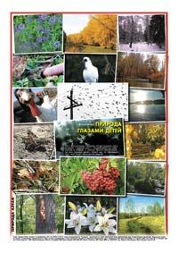 Последняя страница. Фотоколлаж «Фотоконкурс «Природа глазами детей»