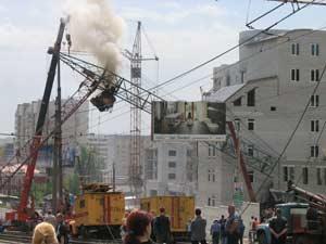 Авария на городской стройке г.Барнаула_Батлук Н.