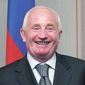 В.М. Кресс, губернатор Томской области