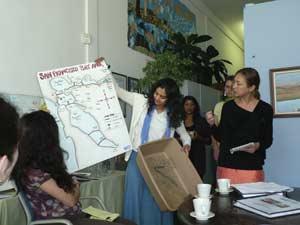 встреча в организации дети за залив