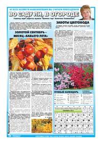 Страница 42. Во саду ли, в огороде. Тематическая страница