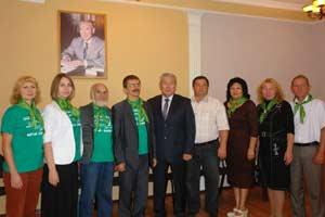 Делегация от Алтайского края
