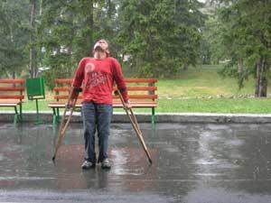 И под дождем жизнь тоже прекрасна