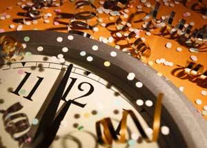 встречать новый год 2007г: