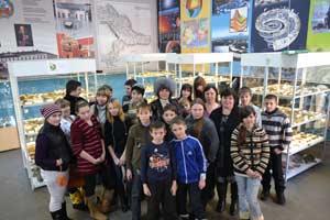8 -10 января 2013 года состоялась краевая профильная школа «Юный геолог»