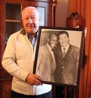 С Луи Армстронгом Игорь Гранов познакомился в Мехико - 45 лет назад. Фото Михаила Сердюкова