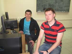 Студенты географического факультета АлтГУ