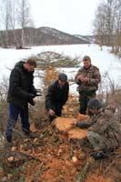 рейдовое мероприятие с участием специалистов Министерства лесного хозяйства Республики Алтай