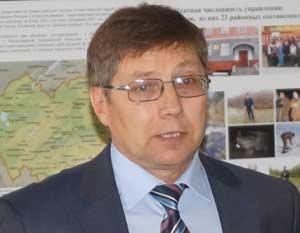 Один из организаторов выставки – начальник крайохотуправления Евгений Батурин