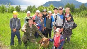 товыставка о летних мероприятиях Телецкой школы молодежного экологического туризма «Хранители Озера»