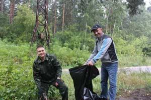 Работники лесного хозяйства Алтайского края приняли участие в субботнике «Зеленая Россия»