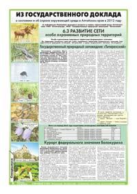 24 страница. Из Государственного доклада о состоянии и об охране окружающей среды в Алтайском крае в 2012 году