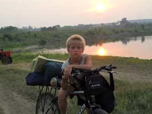 «старожил» отряда Денис Уфимцев