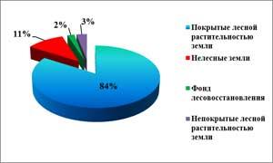 Состояние лесов Алтайского края