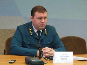 начальник отдела охраны и защиты лесов Александр Зверев