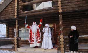 барнаульская резиденция Деда Мороза