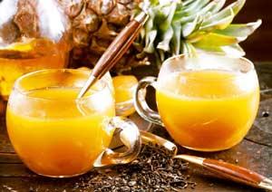 Ананасово-имбирный напиток