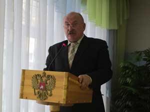 Начальник Управления охотничьего хозяйства Алтайского края Василий Дериглазов