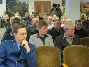 Итоговое заседание в Управлении охотничьего хозяйства Алтайского края