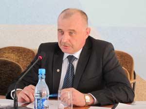 Начальник Управления лесами Алтайского края Владимир Черных