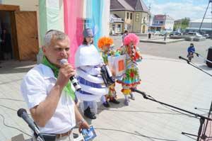 5 июня 2013 года Андрей Степанов провел в Поспелихе крупное мероприятие, посвященное Всемирному дню окружающей среды и российскому Дню эколога