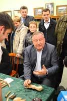 Губернатор Алтайского края А.Б. Карлин на «Музейной ночи – 2013 в ГМИЛИКе»