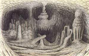 В Шорской пещере