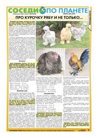 33 страница. Тематическая страница. Соседи по планете