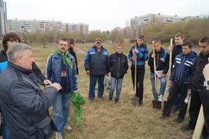 Встреча Сергея Писарева с учащимися колледжа