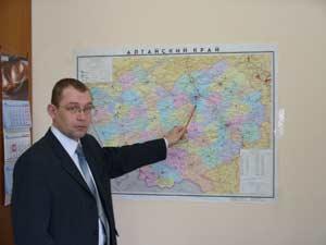 начальник ФГБУ «Алтайский краевой центр по гидрометеорологии и мониторингу окружающей среды» Александр Люцигер