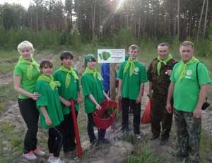 «Хранители леса» на защите заказника