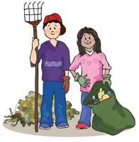 Акция «Сохраним планету от мусора»