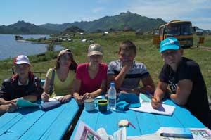 Мастер-класс по экологической журналистике на озере Колыванском