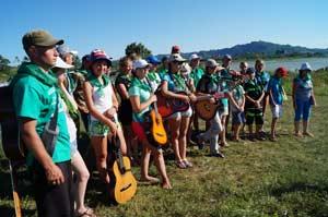 пятый международный палаточный лагерь «Дружба не знает границ»