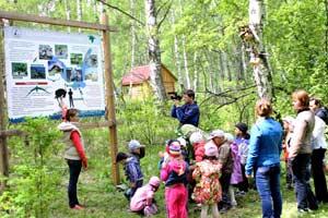 на территории центральной усадьбы Катунского заповедника открыта экологическая тропа