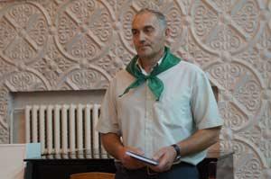 Первый заместитель главы администрации Шипуновского района Николай Рыбоконенко