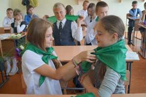 Посвящение в «зелёные»