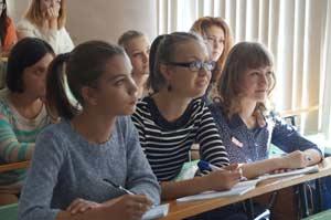 встреча с главным редактором краевой газеты «Природа Алтая» Сергеем Малыхиным первокурсников-журналистов АлтГУ