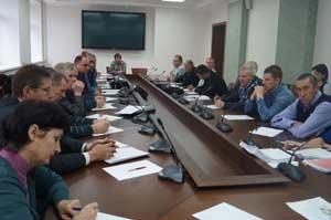 Идёт совещание в Главном управлении природных ресурсов и экологии Алтайского края