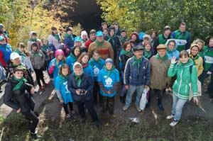 19 сентября в Барнауле прошла экологическая акция «Начни с дома своего. Сделаем»