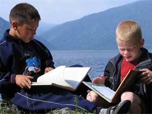 О читальном зале Алтын-Кёля рассказывается в спецвыпуске «Природа Сибири»