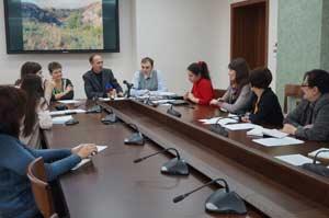 пресс-конференция, посвящённая работе, проводимой Главным управлением по созданию новых особо охраняемых природных территорий (ООПТ) в Алтайском крае