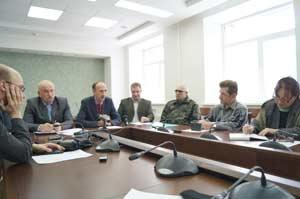 пресс-конференция, на которой были рассмотрены предварительные итоги работы охотнадзора в 2014 году