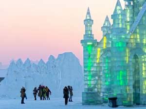 Фестиваль льда и снега в Харбине 25 декабря – 25 февраля